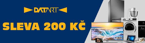200 Kč sleva nad 3000 Kč v eshopu Datart