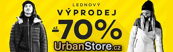 Urbanstore výprodej až -70 %