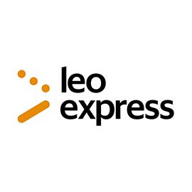 LEO express logo