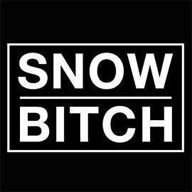 Snowbitch logo