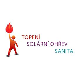 Topení Solární ohřev Sanita logo